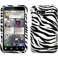 BasAcc Zebra Skin Case for Motorola MB525 Defy