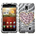 BasAcc Playful Leopard Diamante Case for LG VS920 Spectrum