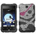 BasAcc Skull Diamante Case for ZTE X500 Score