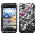 BasAcc Skull Diamante Case for LG LS855 Marquee