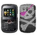BasAcc Skull Diamante Case for Huawei M615 Pillar/ M635 Pinnacle