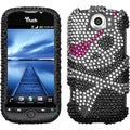 BasAcc Skull Diamante Case for HTC myTouch 4G Slide