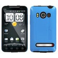 BasAcc Baby Blue/ Black Fusion Case for HTC EVO 4G