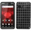 BasAcc Smoke Argyle Pane Candy Case for Motorola XT875 Droid Bionic