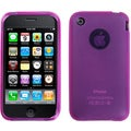 BasAcc Semi-transparent Hot Pink Skin Case for Apple iPhone 3GS/ 3G