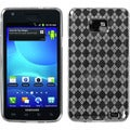 BasAcc Clear Argyle Pane Candy Skin Case for Samsung Galaxy S2 I777