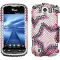 BasAcc Twin Stars Diamante Case for HTC myTouch 4G Slide