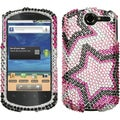 BasAcc Twin Stars Diamante Case for Huawei U8800 Impulse 4G