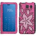 BasAcc Tasteful Flowers Diamante Case for Sanyo 6780 Innuendo