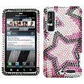 BasAcc Twin Stars Diamante Case for Motorola XT862 Droid 3