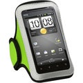 BasAcc Universal Vertical Light Green Sport Armband for HTC EVO 4G