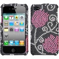 BasAcc Tulip Diamante Case for Apple iPhone 4/ 4S