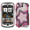 BasAcc Twin Stars Diamante Case for HTC myTouch 3G Slide