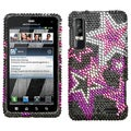 BasAcc Super Star Diamante Case for Motorola XT862 Droid 3