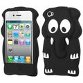 BasAcc Black Elephant Baby Pastel Skin Case for Apple iPhone 4/ 4S