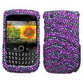 BasAcc Zebra Diamante Case for Blackberry 8520/ 8530/ 9300/ 9330
