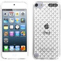 BasAcc White Diamante Candy Skin Case for Apple iPod Touch 5