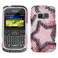 BasAcc Twin Stars Diamante Case for Kyocera S3015 Brio