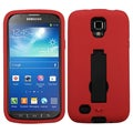 BasAcc Black/ Red Case with Stand for Samsung i537 Galaxy S4 Active