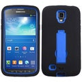 BasAcc Blue/ Black Case with Stand for Samsung Galaxy i537 S4 Active
