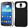 BasAcc Rubberized Black/White Case for Samsung i537 Galaxy S4 Active
