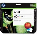 HP 60 Value Pack Ink Cartridge - Tri-color, Black