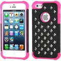 BasAcc Black/ Hot Pink TotalDefense Case for Apple iPhone 5