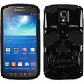 BasAcc Black Skullcap Hybrid Case for Samsung i537 Galaxy S4 Active