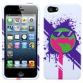 BasAcc Hipster Tripster/ All Smiles Case for Apple iPhone 5