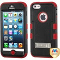 BasAcc Natural Black/ Red TUFF Case for Apple iPhone 5/ 5S