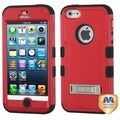 BasAcc Natural Red/ Black TUFF Case for Apple iPhone 5/ 5S