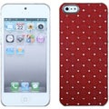 BasAcc Red Luxurious Lattice Dazzling Case for Apple iPhone 5