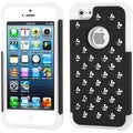 BasAcc Round Studs TotalDefense Case for Apple iPhone 5