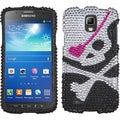 BasAcc Skull Diamante Case for Samsung i537 Galaxy S4 Active