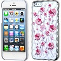 BasAcc Ivory White/ Silver Sunroom Diamond Case for Apple iPhone 5