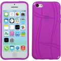 BasAcc Purple Basketball Texture Candy Skin Case for Apple iPhone 5C