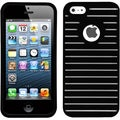 BasAcc Black Railing Phone Case for Apple iPhone 5