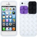 BasAcc White Blocks Case for Apple iPhone 5