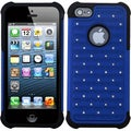 BasAcc Dark Blue/ Black Luxurious Lattice Case for Apple iPhone 5