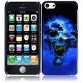 BasAcc Blue Skull Case for Apple iPhone Lite/ 5C