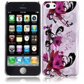 BasAcc Purple Lily Case for Apple iPhone Lite/ 5C