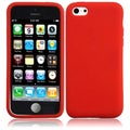 BasAcc Red Silicone Case for Apple iPhone 5C