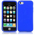BasAcc Blue Silicone Case for Apple iPhone 5C