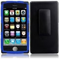 BasAcc Black/ Blue Holster Case for Apple iPhone 5C