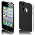 BasAcc White/ Black TPU Case for Apple iPhone 5/ 5S