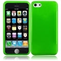BasAcc Neon Green Frosted TPU Case for Apple iPhone 5C