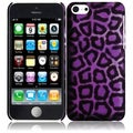 BasAcc Purple Leopard Case for Apple iPhone 5C
