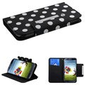 BasAcc Dots MyJacket Wallet Case for Samsung I337 Galaxy S4/ S IV