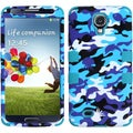 BasAcc Aquatic Camouflage/ Teal TUFF Case for Samsung Galaxy S4 i9500