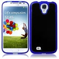 BasAcc Black/ Blue TPU Case for Samsung Galaxy S4 i9500